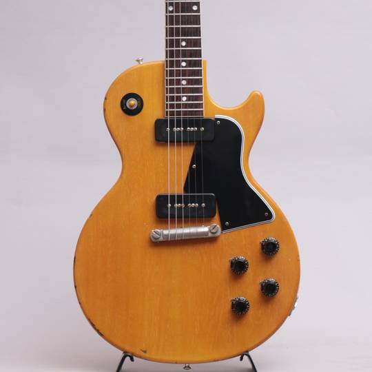 Japan Limited 1957 Les Paul Special Single Cut Bright TV Yellow Slight Light Aged