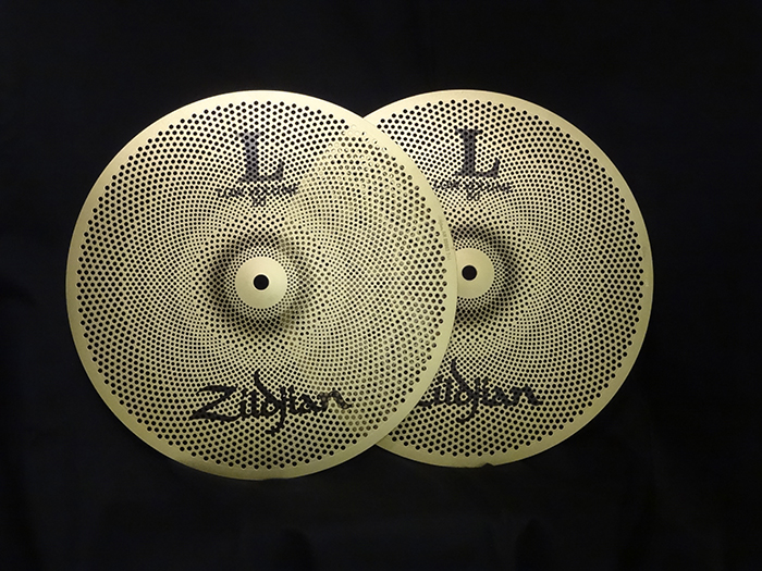 "【消音シンバル単品販売 】L80 Low Volume 13"" HiHats Pair NAZLLV8013HP"