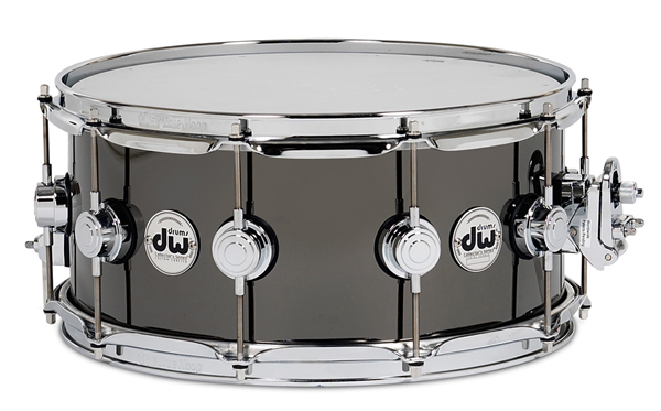 DW-BNB1465SD/BRASS/C Collector's Metal Snare / Black Nickel Over Brass