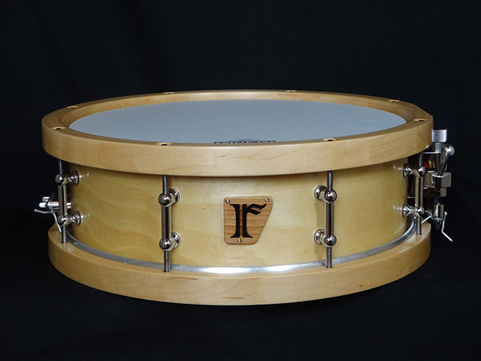 "Birch 8ply / 13""x 4.5""  natural birch W/WOOD HOOP"