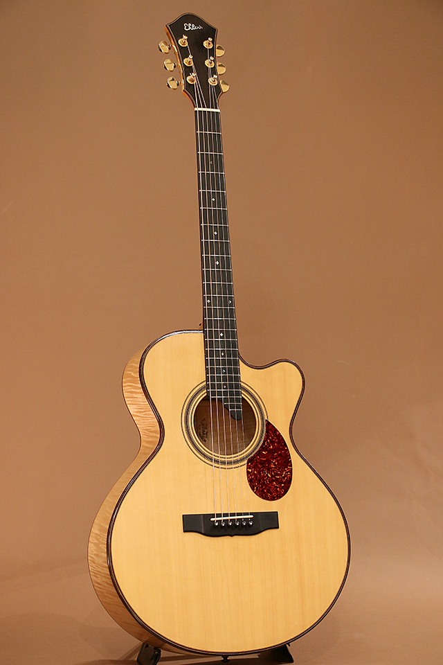 Model 15 Cutaway Flame Maple