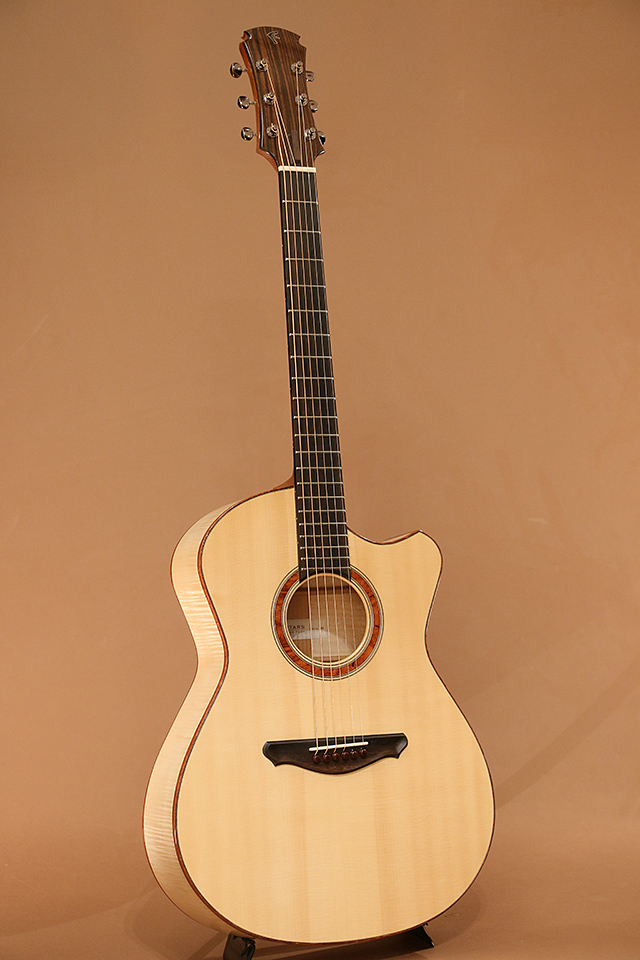 OO-14Fret Slant Cutaway European Flame Maple