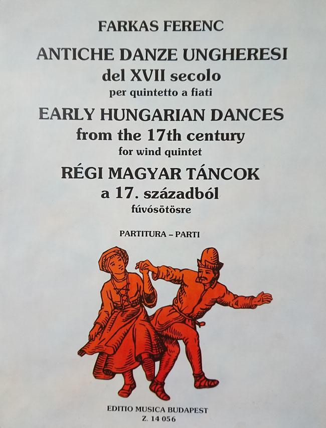 その他 【木5】ファルカシュ / 17世紀の古いハンガリー舞曲 (木管五 ...