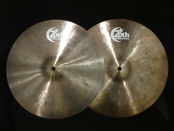 "【中古品】20th Anniversary Series 14"" Hi-hats 889g,1071g"