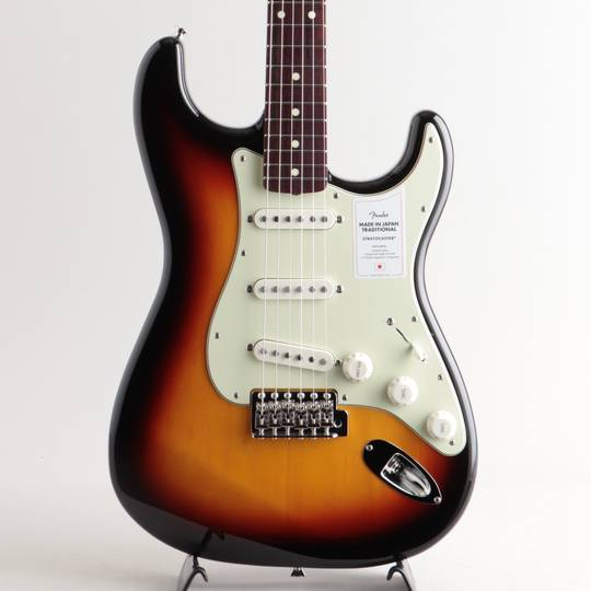 Made in Japan Traditional 60s Stratocaster/3-Color Sunburst