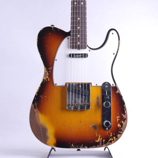 2020 Collection 64 Telecaster Custom Heavy Relic/Faded Aged 3-Color Sunburst