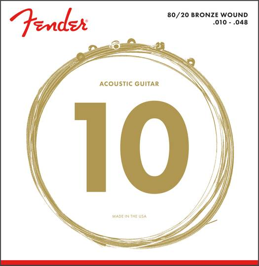 80/20 Bronze Acoustic Strings, Ball End, 70XL .010-.048
