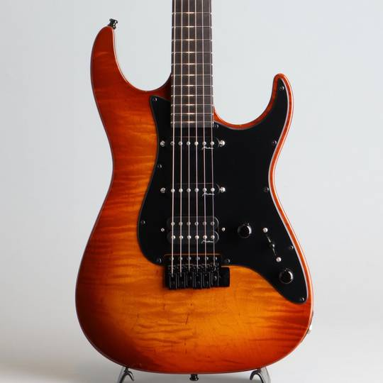 Vintage Tremolo Flamed Maple S-S-H Violin Burst