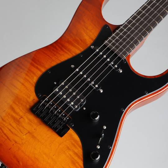 Marchione Guitars Vintage Tremolo Flamed Maple S-S-H Violin Burst  マルキオーネ ギターズ サブ画像10