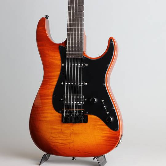 Marchione Guitars Vintage Tremolo Flamed Maple S-S-H Violin Burst  マルキオーネ ギターズ サブ画像8