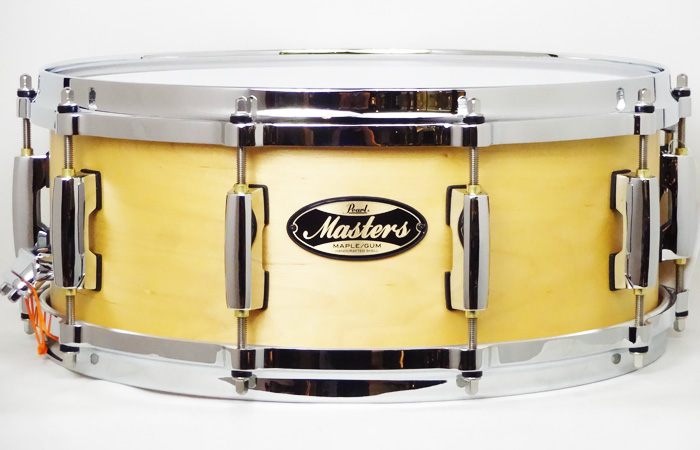 "Masters Maple Gum 14""×5.5"" Hand Rubbed Natural Maple MMG1455S/C #186"