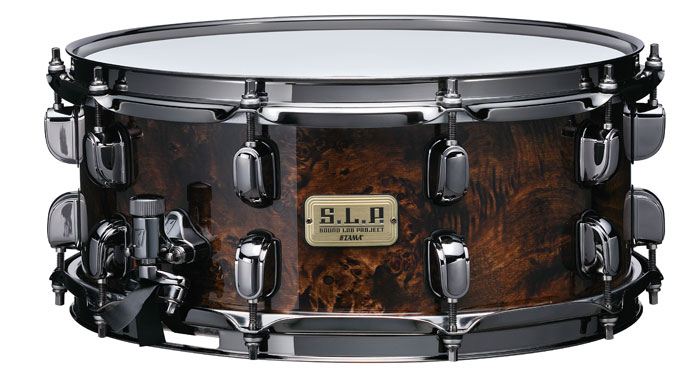LGM146-KMB S.L.P Snare G-Maple w/ MAPPA BURL OUTER PLY