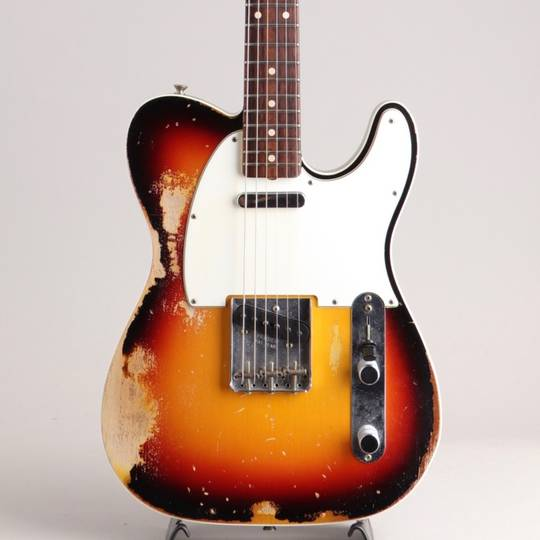 1960 Custom Telecaster Heavy Relic 3CS Built By Dennis Galuszka 2017