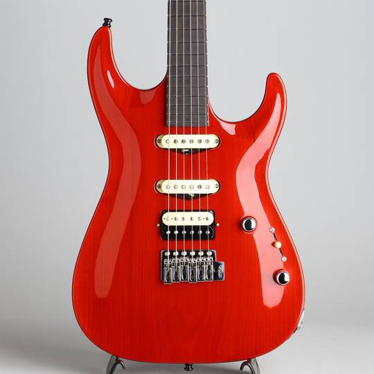 Uni Body Carve Top Torrefied Basswood Trans Red