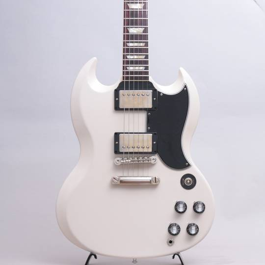 Japan Limited Run 1961 SG Standard Reissue Polaris White Stop Bar VOS