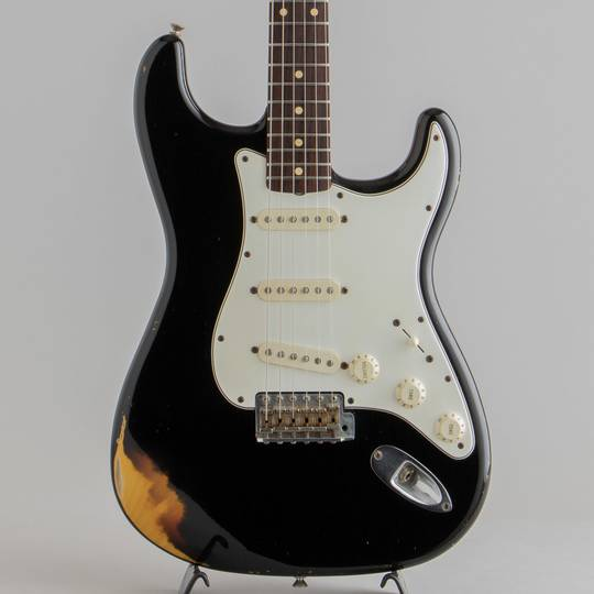 1960 Stratocaster Relic LTD Black over 3CS 2005