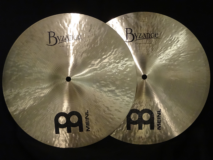 "【中古品】BYZANCE TRADITIONAL 14"" Heavy HiHats B14HH"