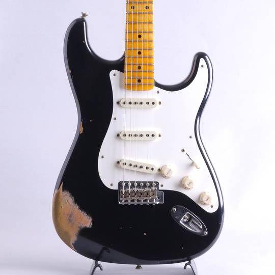1959 Stratocaster Maple Fingerboard Heavy Relic/Aged Black【S/N:CZ539064】