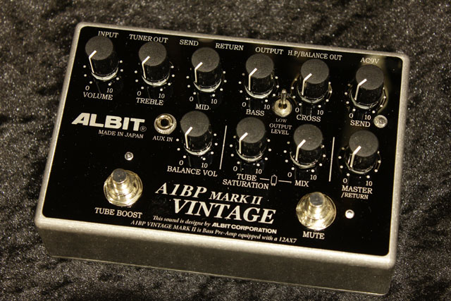A1BP VINTAGE MARK II BASS PRE-AMP