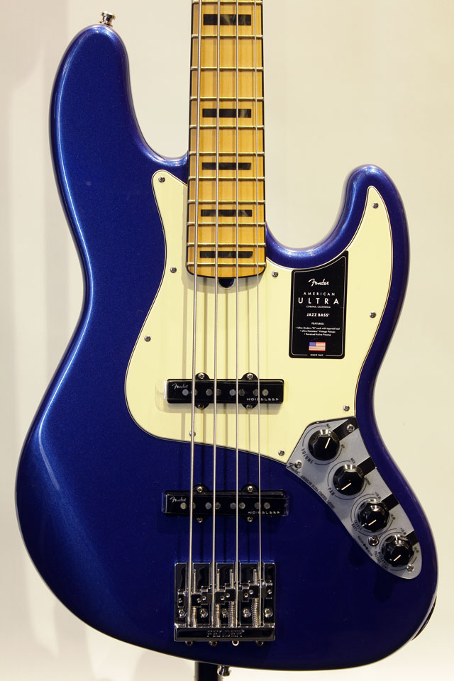 AMERICAN ULTRA JAZZ BASS (Cobra Blue)【試奏解説動画有り】