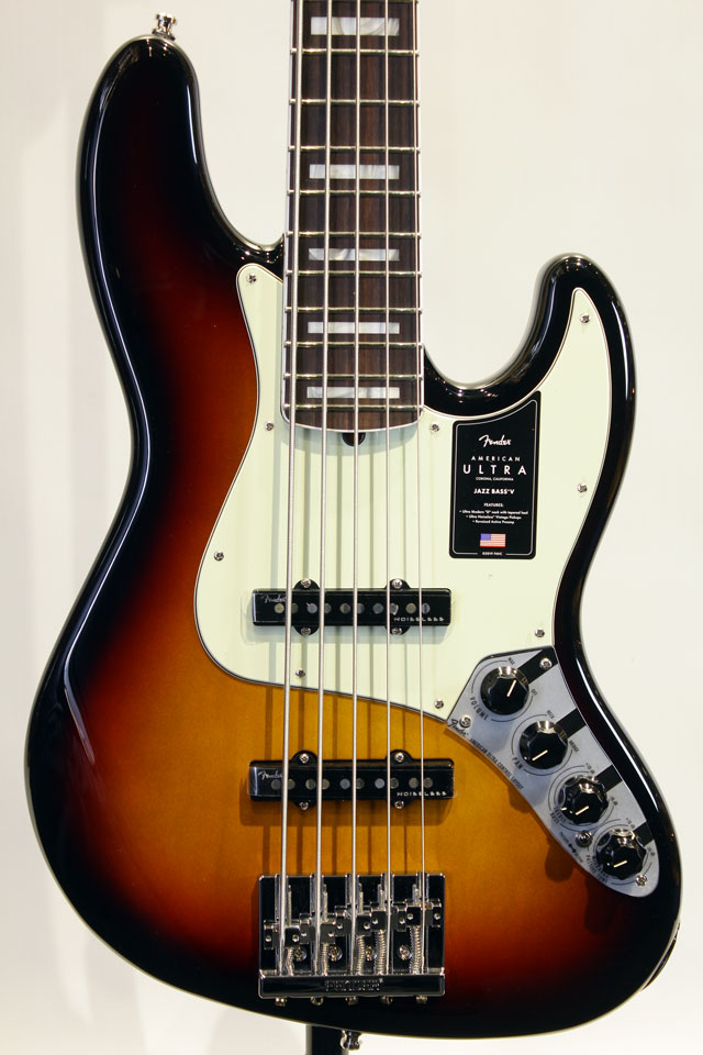 AMERICAN ULTRA JAZZ BASS V (Ultraburst)