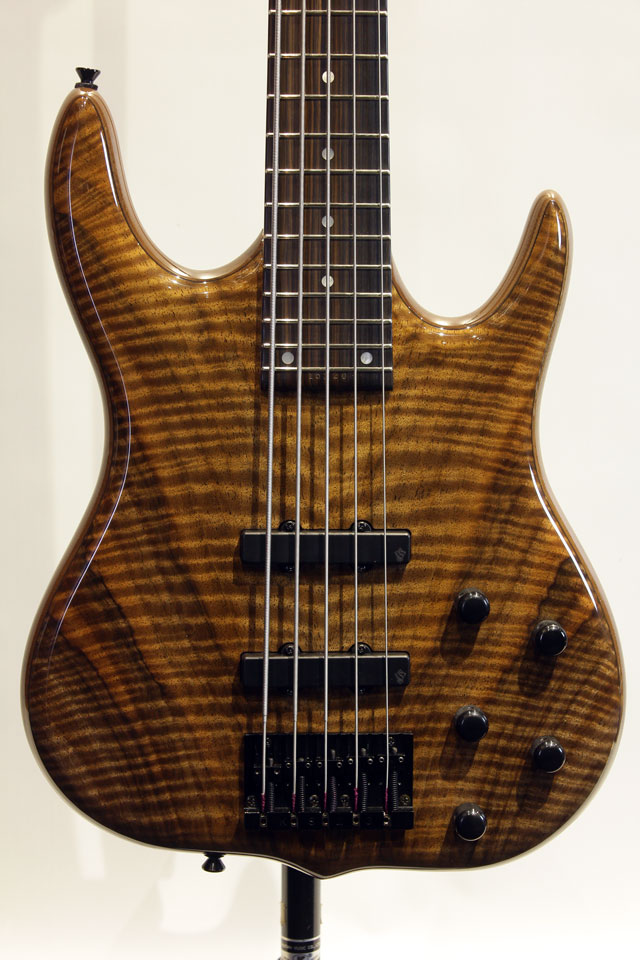 "BHF-5  ""Burner Hadrien Feraud Figured Claro Walnut TOP"""
