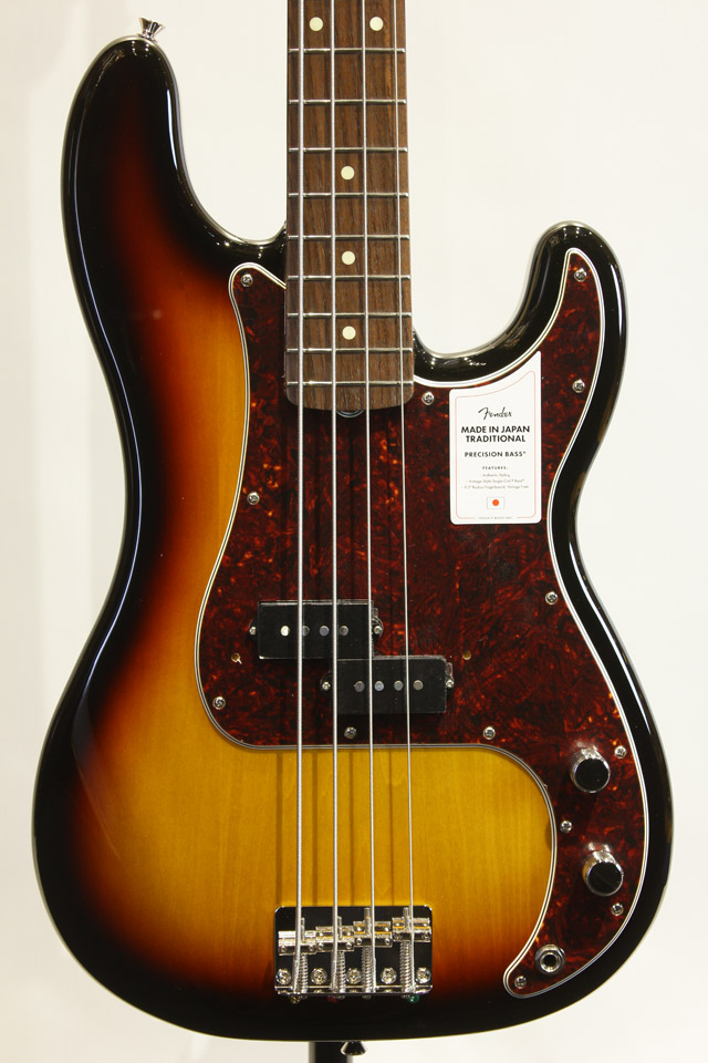 MADE IN JAPAN TRADITIONAL 60S PRECISION BASS (3TS)