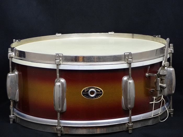 "【VINTAGE】50s Student Model Radioking #151 Brown Gold Duco 14""x5,5"""
