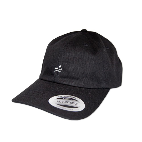 JAPANESE WHITE LOGO DAD CAP
