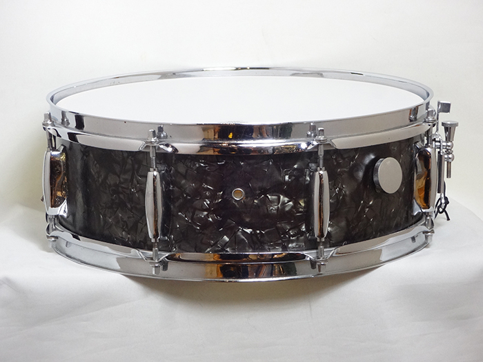 "【VINTAGE】60s Beech Shell 14""x5.5"" Black Diamond"