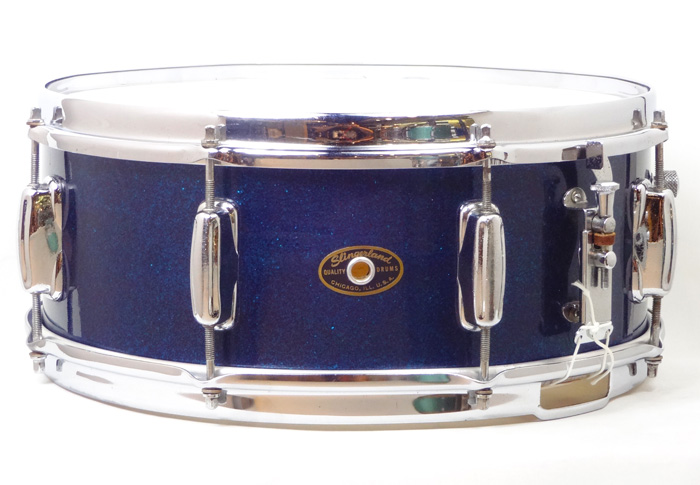 "【VINTAGE】60's Hollywood Ace Sparkling Blue 14""×5.5"""