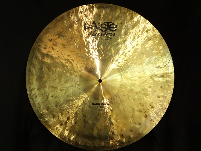 "【USED】Masters 22"" Dark Crisp Ride 3,187g"