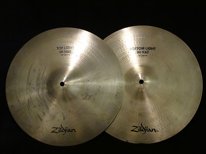 "【中古品】A 14"" Light HiHats 936g/ 1031g"