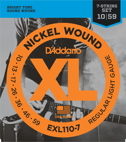 EXL110-7 [Nickel Wound 7弦 10-59]