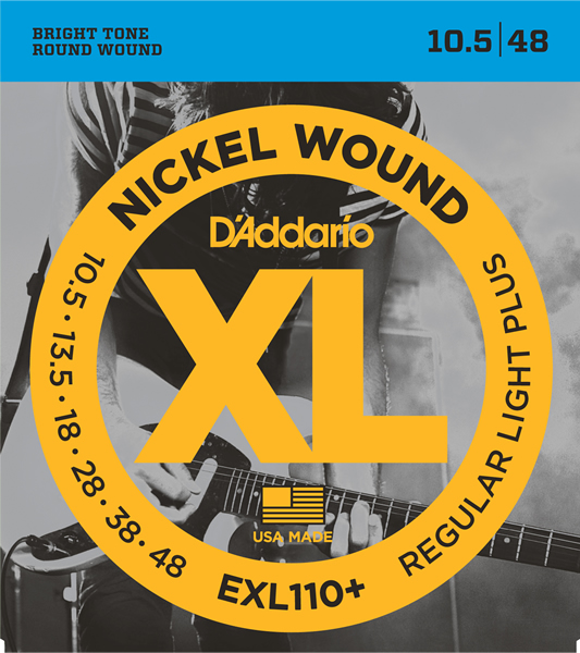 EXL110+ [Nickel Wound 10.5-48]