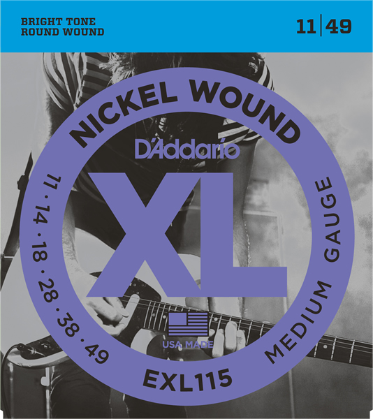 EXL115 [Nickel Wound 11-49]