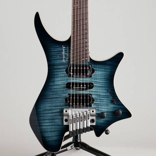 Boden J6 Standard 5A Flamed Maple Forest Blue Burst