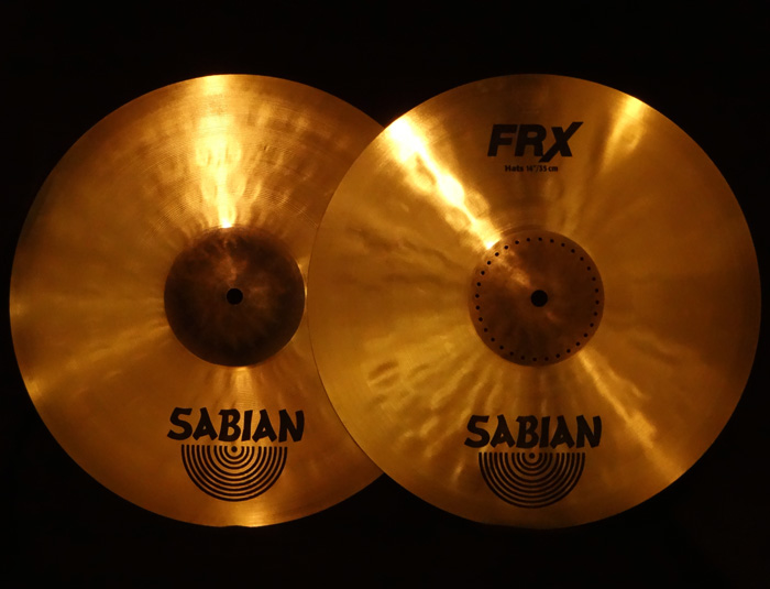 "【USED】FRX 14"" Hi-Hats 811g,1207g"