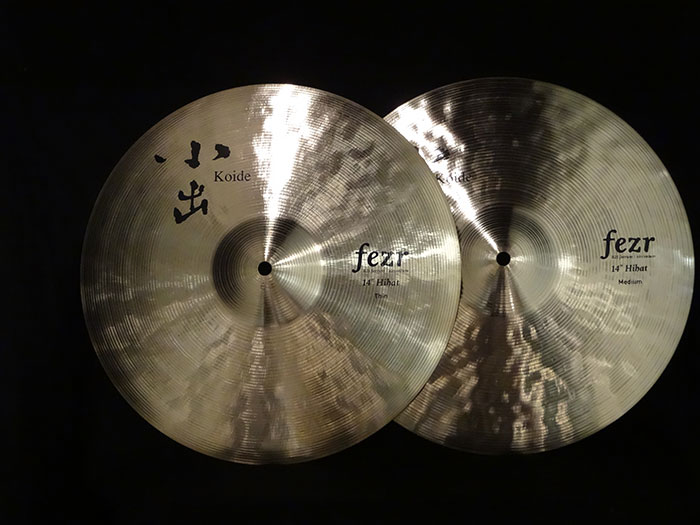 "Fezr 14"" Hi-hats Set 【Top Thin & Bottom Medium】"
