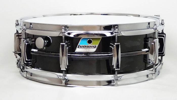 "【VINTAGE】1977-79' Supraphonic L-416 Black Beauty 14""×5"""