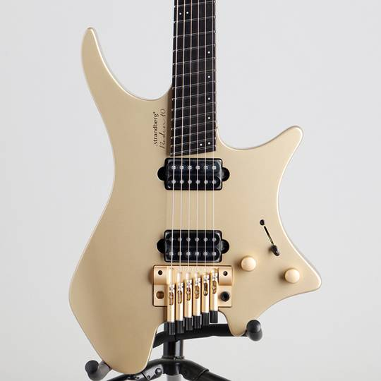 Boden Prog 6 Ebony 10th Anniversary Gold 1/5