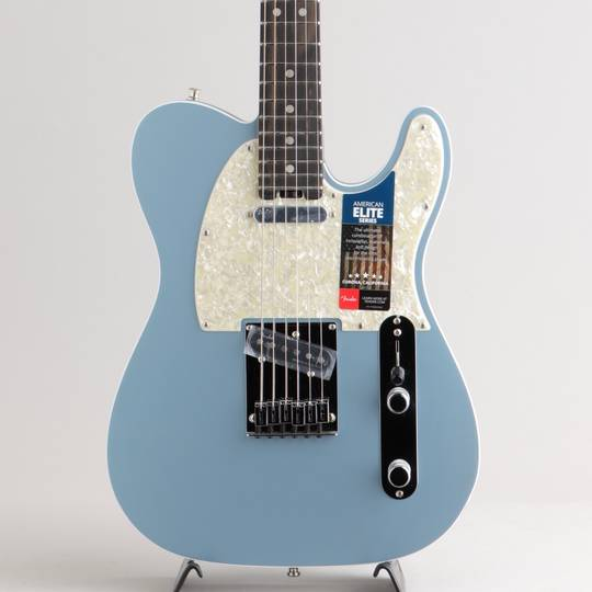 American Elite Telecaster/Satin Ice Blue Metallic/Ebony【S/N:US18103601】