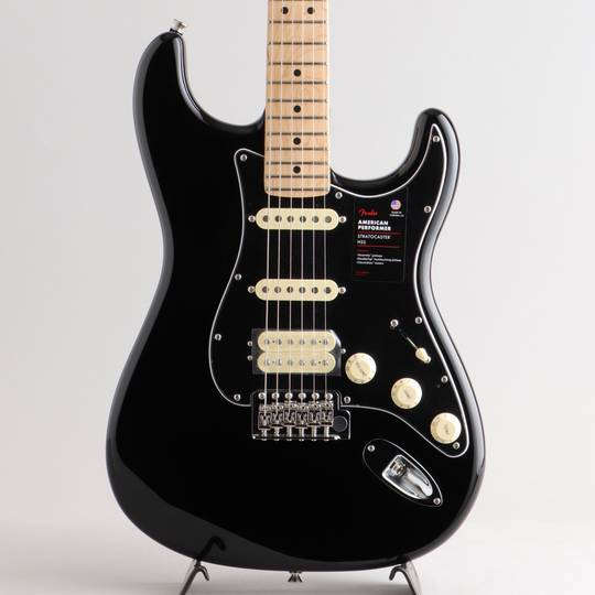 American Performer Stratocaster HSS/Black/M【S/N:US20022062】