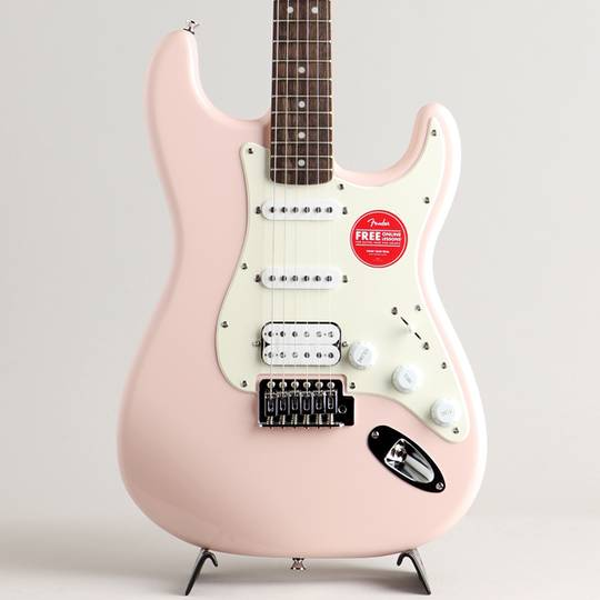 Bullet Strat with Tremolo HSS Shell Pink