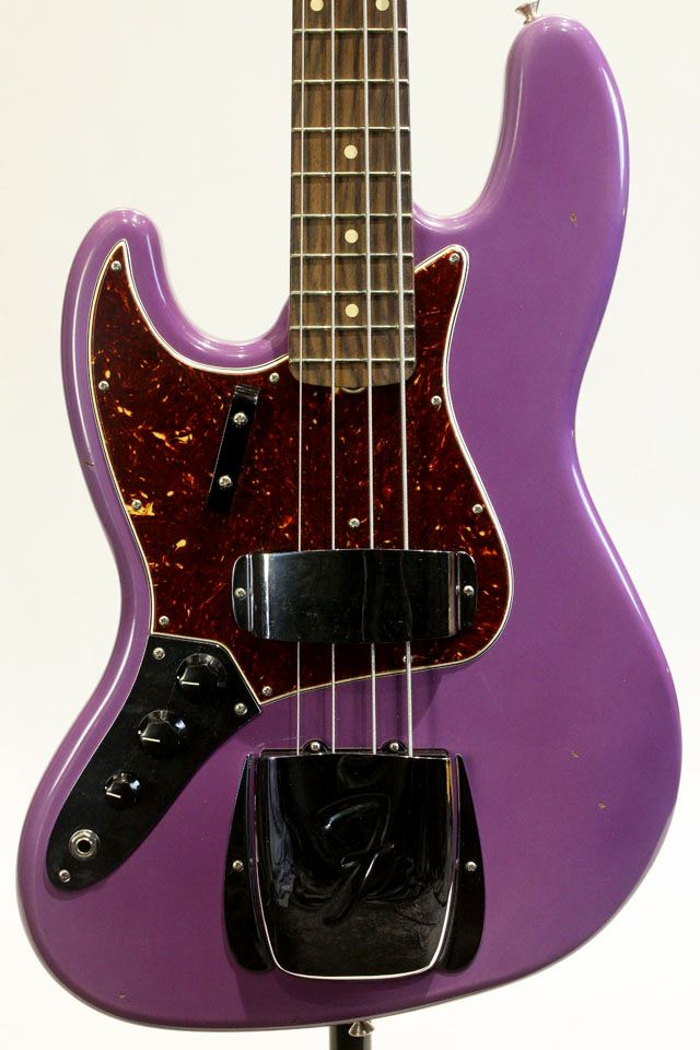 Custom Build 1962 Jazz Bass NOS Lefty Violet 【ローン無金利】【送料無料】