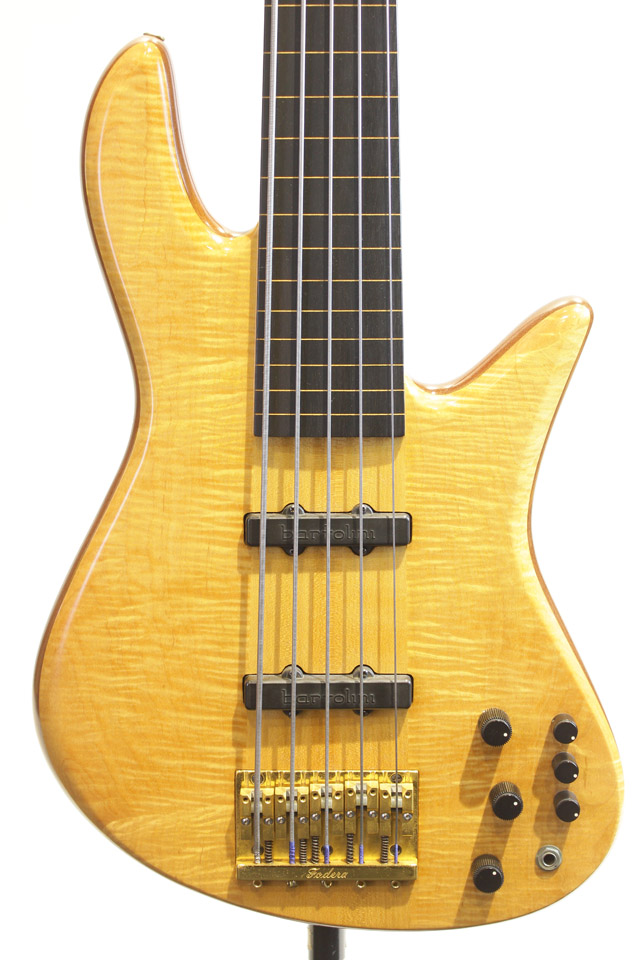 Emperor Elite Fretless 5st / with R.M.C Piezo Pickup【サウンドメッセ限定価格 599,500円】