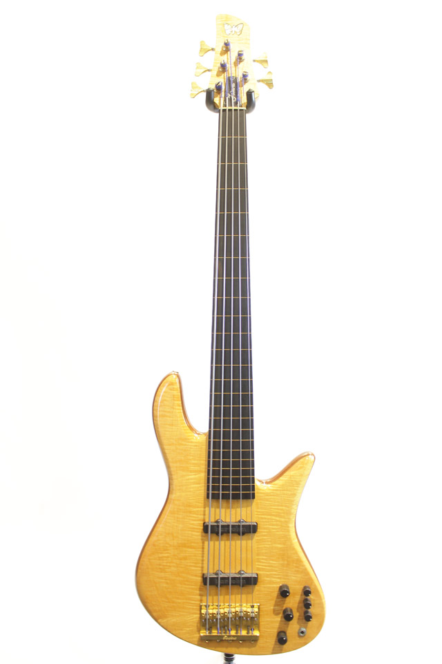 FODERA Emperor Elite Fretless 5st / with R.M.C Piezo Pickup フォデラ サブ画像1