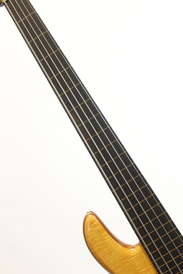 FODERA Emperor Elite Fretless 5st / with R.M.C Piezo Pickup フォデラ サブ画像2