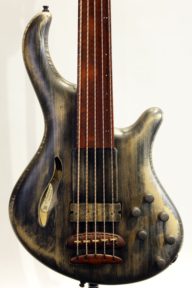 Patriot 5st MR Fretless Maurizio Rolli Signature