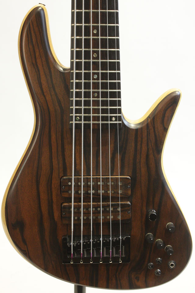 "Emperor 6strings Custom Bolt-on 33inch ""Macassar Ebony Top"" 2005"